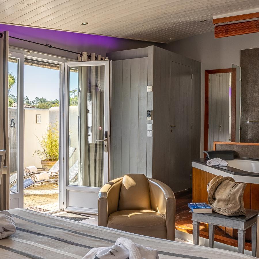 elégance suites hôtel ile de ré - vôtre hôtel 4 étoiles au bois